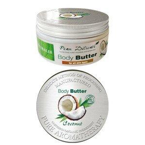 Naturalis tělové máslo Kokos 300g