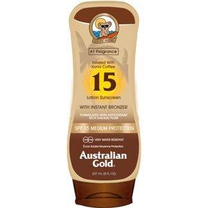 Australian Gold Lotion + Bronzer SPF15 237ml
