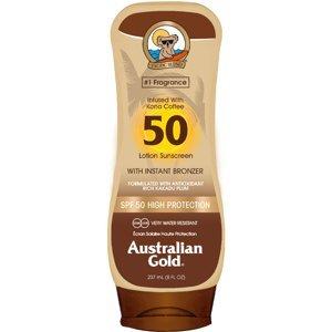 Australian Gold Lotion + Bronzer SPF50 237ml