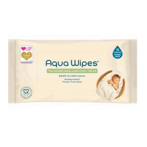 Aqua Wipes Eko dětské vlhčené ubrousky 12ks