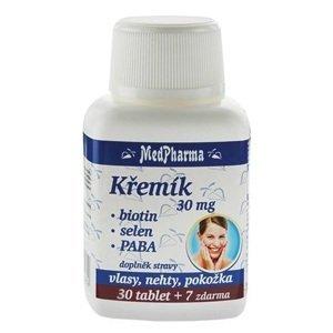 MedPharma Křemík 30mg+Biotin+PABA 37 tablet