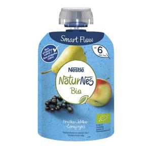 Nestlé NaturNes BIO kapsička hruška, jablko, černý rybíz 90g