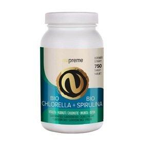NUPREME BIO Chlorella + Spirulina 750 tablet