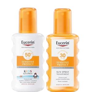 EUCERIN SUN Dětský sprej SPF50+Transparentní sprej SPF30
