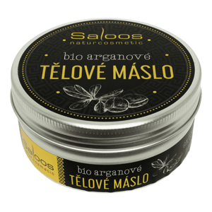 Saloos Šlehané máslo Bio tělové arganové 150ml