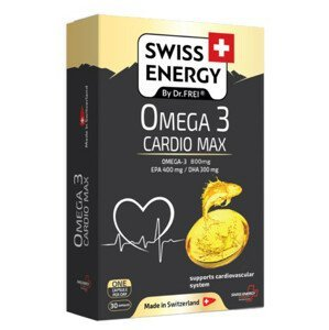 Swiss Energy Omega 3 cardio Max 30ks