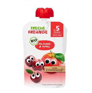 Freche Freunde BIO Ovocná kapsička švestka a jablko 100g