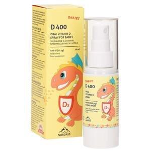 Nordaid D400 Vitamin D3 ve spreji pro děti 30ml