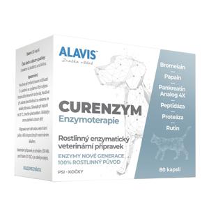 ALAVIS Curenzym Enzymoterapie a.u.v. 80 kapslí