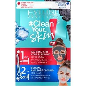 Eveline Cosmetics  Eveline Clean Your Skin pleťová čistící maska 2x5ml