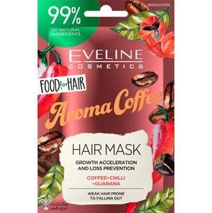 Eveline Cosmetics  Eveline FOOD FOR HAIR – Vlasová maska Coffee 20ml