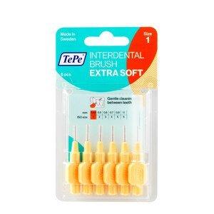 TePe Mezizubní kartáček Extra Soft oranžový 0,45mm 6ks