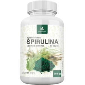 Allnature Spirulina bylinný extrakt 60kapslí