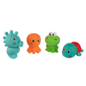 Canpol babies Sada kreativních hraček do vody OCEÁN 4 ks