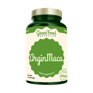 GreenFood Nutrition ArginMaca 60 kapslí