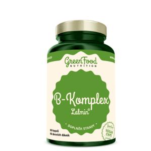 GreenFood Nutrition B-Komplex Lalmin 60kapslí