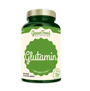 GreenFood Nutrition Glutamin 120kapslí