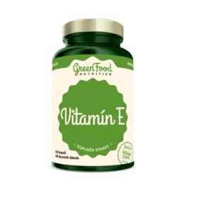 GreenFood Nutrition Vitamín E 60kapslí