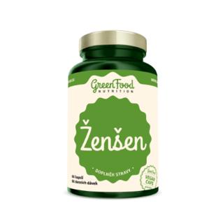 GreenFood Nutrition Ženšen 60cps