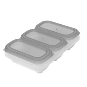 Skip Hop Nádobky na uskladnění jídla stohovatelné 3x118ml