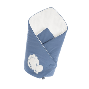 Belisima Baby Zavinovačka Ballons modrá