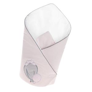 Belisima Baby  Belisima Zavinovačka s výztuží Ballons růžová