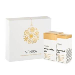 VENIRA dárkový set - 40 denní kúra 80 kapslí a švestkový olej 50ml