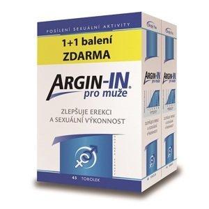 Arginin  Argin-IN pro muže tobolky 45 + Argin-IN tobolky 45 zdarma