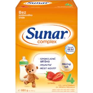 Sunar Complex 4 jahoda, 600g - nový