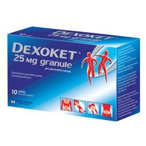 Dexoket 25mg granule Zrněný prášek pro přípravu 10x25mg