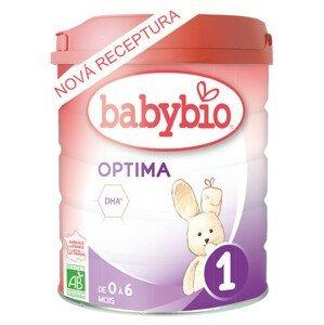 BABYBIO OPTIMA 1 kojenecké bio mléko 800g