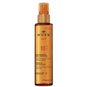 Nuxe Sun Bronzující olej na obličej a tělo SPF10 150ml