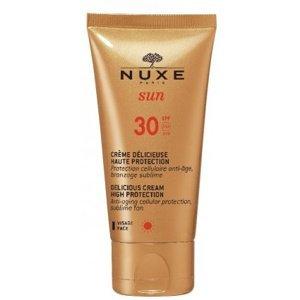Nuxe Sun Delikátní opalovací krém na obličej SPF 30 Delicious Cream High Protection 50ml
