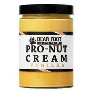 Bear Foot Nutrition  BF-Pro Nut Arašídové máslo s proteinem Vanilka 550g