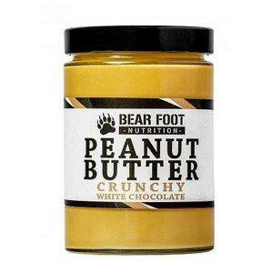 Bear Foot Nutrition  BF-arašídový krém s bílou čokoládou a kousky arašídů 550g