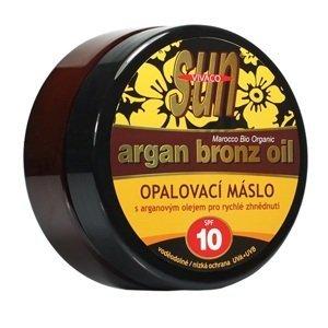 Sun Vivaco SUN Bronz Opalovací máslo SPF10 s argan.olej.200ml