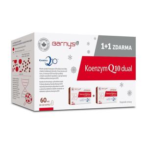 Barny's Koenzym Q10 Dual 60mg 30+30 kapslí ZDARMA