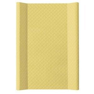 Ceba, Podložka přebalovací 2-hranná,MDF 70x50cm, CARO Mustard Ceba
