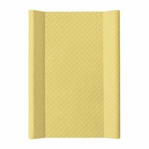 CEBA Podložka přebalovací měkká 2hranná 70x50cm CARO Mustard Ceba