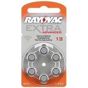 Baterie do naslouchátka Rayovac Extra Adv.13/PR48 6ks