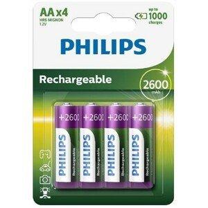 Philips Nabíjecí baterie AA R6B4B260/10 4ks