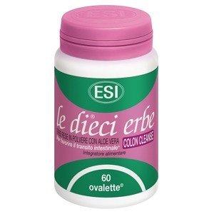 ESI Aloe Vera tablety Colon Cleanse 60ks