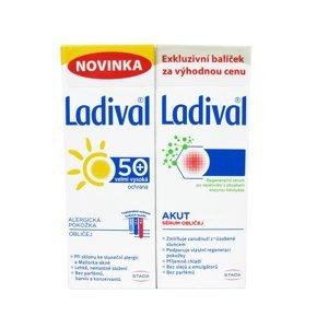 Ladival Alergická pokožka OF50+ 50ml + Regenerační sérum 50ml