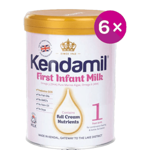 Kendamil kojenecké mléko 1 DHA+ 6x900g