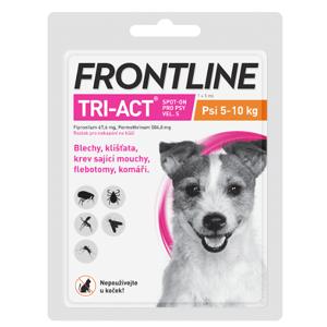 Frontline Tri-Act psi 5-10kg spot-on 1x1 pipeta