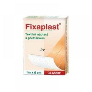 Fixaplast Classic 1mx6cm nedělená s polštářkem