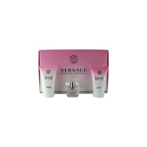Versace Bright Crystal Toaletní voda 5ml Edt 5ml + 25ml tělové mléko + 25ml sprchový gel