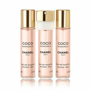 Chanel Coco Mademoiselle Toaletní voda 3x20ml náplň