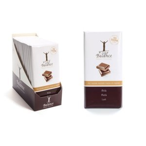 BALANCE Mléčná čokoláda bez přidaného cukru 100 g