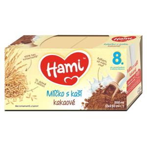 HAMI Mlíčko s kaší Kakaové od 8.měsíce 500 ml